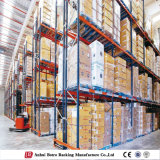 Depósito de almacenamiento personalizado de revestimientos de acero Pallet Rack mostrar