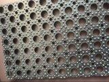 ゴム製フロアーリング、ゴム製安定したマット、反スリップのゴム製マットの排水のゴムマット