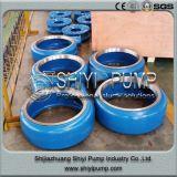 Desgaste - peças centrífugas alinhadas da bomba da pasta do tratamento da água da pasta metal centrífugo resistente
