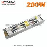 AC электропитания 200W 110V 220V переключения CCTV водителя ультра тонкий 12V 16.7A 200W 24V 8.3A СИД к DC 12V