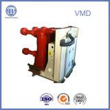 rupteur électrique à haute tension de vide de 3 phases de 12kv-2500A Vmd avec Pôle encastré