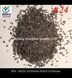 Al2O3: Oxyde van het Aluminium van 65% Min Bruine Gesmolten voor het Vernietigen van het Schot