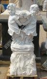La sculpture en pierre sculptée statue en marbre avec décoration de jardin en grès de granit (sy-X1313)