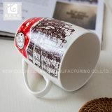 la tazza di tè della Cina della porcellana 390ml possiede il corpo di /White di marchio/disegno di richiesta