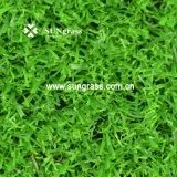 15 millimetri del giardino di svago di erba d'abbellimento ad alta densità di falsificazione (SUNQ-AL00080)