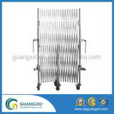 Stahl-und beweglicher temporärer Aluminiumzaun