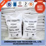 Óxido de zinco 99.5% 99.7% ZnO para a borracha e o plástico