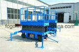 levage mobile de ciseaux d'utilisation d'entrepôt de 18m