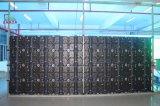 P3.91 500X500mm kurvte im Freienmiete LED-Bildschirmanzeige mit justierbarem Lichtbogen