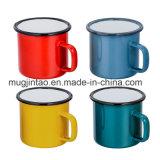 강철 찻잔 옥외 사기질 야영 컵 태양열 집열기