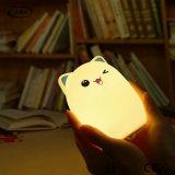 Luz LED de silicona Sensor recargable Mando a distancia