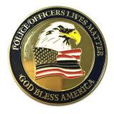 軍隊のための熱い販売の習慣3Dの挑戦硬貨