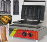 Produits de boulangerie un morceau de pénis Gayke Gaufrier machine à gaufres