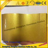 Het Profiel van de Schuifdeur van het aluminium met de Kleur van de Elektroforese van het Kristal