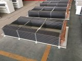 Hochtemperaturdecken-Doppelt-seitlicher durchbrennenluft-Kühlvorrichtung-Verdampfer/Wärmetauscher