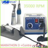 Zahnmedizinisches Labor Micromotor des Seayang Marathon-3 für gegen Winkel u. gerades Handpiece