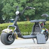 Мощный зеленый электрический скутер с 60V 1500 Вт Бесщеточный двигатель