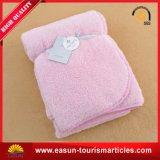 柔らかいタッチの綿の赤ん坊毛布
