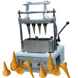 Lärmarmer leistungsfähiger elektrischer Waffel-Kegel-Hersteller