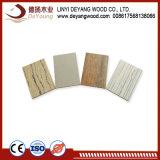 Plain MDF melamina muebles de madera contrachapada para junta