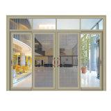 Porte coulissante de porte de Chaud-Vente de type classique chinois de qualité