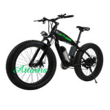 2018 새 모델 48V 500W 전기 뚱뚱한 타이어 자전거