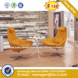 Slap up moderno sofá de cuero para el hogar (HX-CS091)
