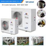 La villa froide 12kw/19kw/35kw de mètre du chauffage 100~300sq de Chambre d'étage de l'hiver de la technologie -25c d'Evi Automatique-Dégivrent le système fendu emballé de pompe à chaleur