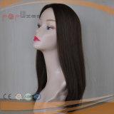 La Virgen de la Seda Cabello Remy Top mujer peluca (PPG-L-0963)