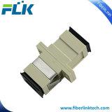 Sc Adaptador de fibra óptica monomodo APC