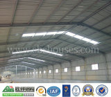 Tettoia progettata costruzione prefabbricata del gruppo di lavoro della struttura d'acciaio