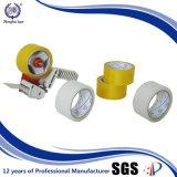Diferentes tamaños de cinta de embalaje de color amarillento de la viscosidad duradero