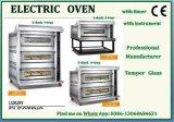 De commerciële Vleugels Van uitstekende kwaliteit van de Kip 3deck 3tray van de Apparatuur van de Keuken Elektrische Oven Gebakken met Ce