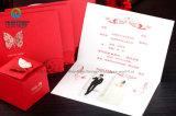 La Maison Rouge unique invitation personnalisée mariage Cartes d'engagement avec papillon