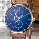De Digitale Horloges van de Manier van het Horloge van het Kwarts van het Embleem van het Merk van de douane van Gouden Kleur (wy-17013F)