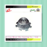 Liga de alumínio de fundição de moldes para alojamento de Acabamento Acetinado de LED