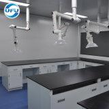 Mobilier de laboratoire de chimie de l'école moderne pleine d'acier Instrument de laboratoire Table de travail