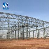 Durable de metal ligero de acero galvanizado prefabricados estructurales de edificios