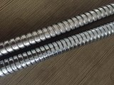 Boyau de douche flexible d'acier inoxydable avec le placage de chrome, EPDM, noix en laiton, Acs Approva