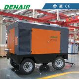 Два этапа портативный Oil-Injected дизельного двигателя для продажи на заводе воздушного компрессора