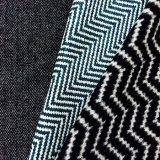 Tela Herringbone colorida mezclada de las lanas del tweed, tela de la raspa de arenque de la suposición de las lanas del color de la mezcla