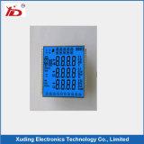 Customeried LCD Bildschirmanzeige mit weißen Hintergrund-Schwarz-Segmenten