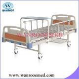 Bam200セリウムの公認のABS 2クランクの手動病院用ベッド