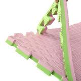 Waterdichte niet-Geur van de Mat van het Schuimrubber van de Mat van de Mat van de Gymnastiek van EVA van de Mat van Taekwondo de Krijgs