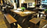 固体木のダイニングテーブルの居間の家具(M-X2900)