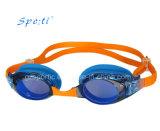 Herrliche widergespiegelte Silikon-Schwimmen-Schutzbrille für Kinder