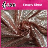 Tessuto variopinto del ricamo del Sequin di modo di alta qualità