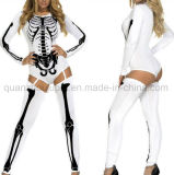 OEM Halloween 폴리에스테 Cosplay 흡혈귀 해골 의류 옷