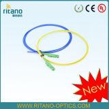 Cavo di zona della fibra E2000/ponticello/trecce ottici