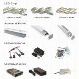 Haut de la lumière LED SMD2835 60/m 12V 10mm prix d'usine Strip Light LED souples